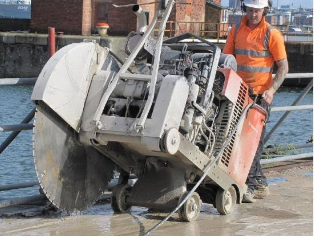 Road Sawing